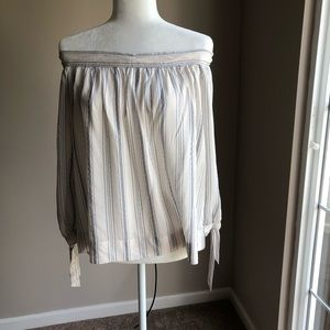 Max studio striped Blouse